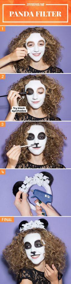 5 Snapchat Filter Halloween Costumes You Should Rock IRL - Seventeen.com