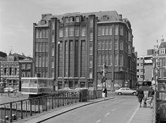 V&D aan het Spaarne in 1949. In de jaren '70 afgebrand. Heel zonde.