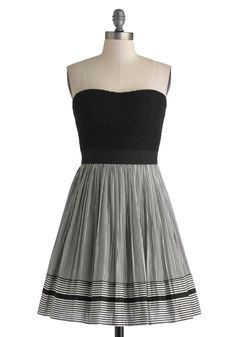 Invite Only Dress. Upon returning home, you reach in your mailbox and see that it has finally arrived - the invitation to a friends restaurant-opening party, and youve got just the dress for it! #black #modcloth