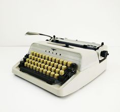 Adler J2 Typewriter / 1970s Working Portable by Reconstitutions