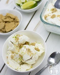 Key lime pie ice cream recipe, great spring treat and yummy summer dessert, mmm!