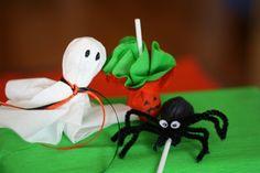 DIY Halloween lollipops