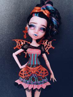 RESERVED for Kelsey Waddell - Monster High Dracubecca OOAK Repaint Custom…