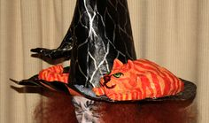 Halloween Papier Mache Witches Hat