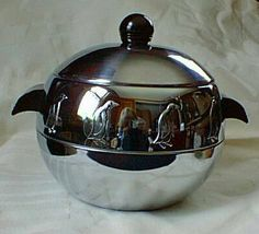 Just bought one of these vintage bad boys at an antique market. It has penguins on it. So in love.