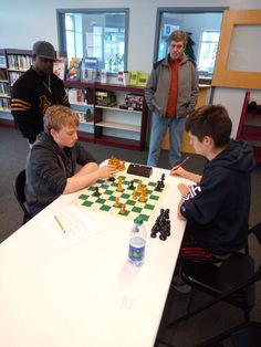 April 22, 2017 - Storrs Center Chess Club