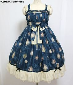 metamorphose temps de fille Vintage cameo ミディアムジャンパースカート