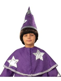 Funny Party Accessory Costume Accessory Adult or Child Wizard Costume Hat