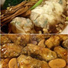 中華街は中華街の楽しみ方がありますね〜 ワンタンラーメンは、肉多めで普通でした。 - 81件のもぐもぐ - 中華街  牡蠣の鉄板焼き by 1125shino