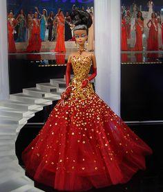 Miss Gabon 2013/14 by Ninimomo Dolls