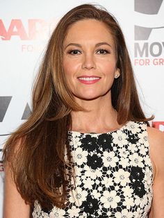 Diane Lane proves you can still rock long, gorgeous layers at any age! More hairstyles here: http://www.bhg.com/beauty-fashion/hair/hairstyles-for-women-over-50/?socsrc=bhgpin070614golong&page=7