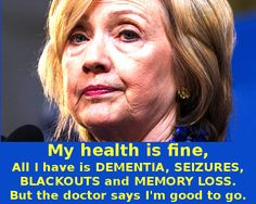 MSM To Admit Hillary Clinton Is Mentally Diminished, But According To Them, That Is Good For America!