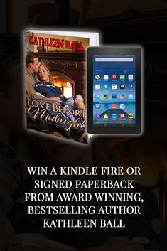 Win a Kindle Fire or Signed Paperback from Award-Winning, Bestselling Author Kathleen Ball! Books To Read, My Books, Excited To See You, Immediate Family, Contest Rules, Enter Sweepstakes, Advertising And Promotion, Before Midnight, Book Authors