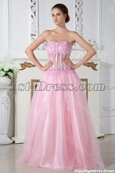 Pink Sexy Illusion 2011 Quinceanera Dress IMG_2016:1st-dress.com