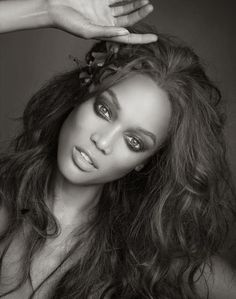 Mesmerizing eyes- Tyra Banks-pin it by carden