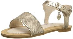 Stuart Weitzman Camia Ava Low Strap Sandal (Toddler/Little Kid/Big Kid) *** Don't get left behind, see this great  product : Girls sandals