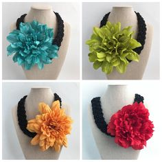 Crochet Necklace, Etsy, Jewelry, Mermaids, Stud Earrings, Necklaces, Bangle Bracelets, Carnivals, Love Gifts