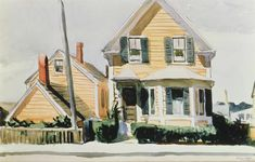 Edward Hopper - The Yellow House