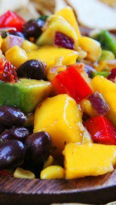 mango salsa with black beans avocado sweet corn chipotle mango salsa ...