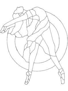 Ballet_dancer_arc disegni da colorare per adulti