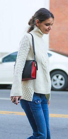 sweater- Katie Holmes