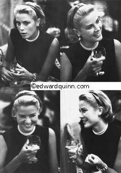 Edward Quinn, Grace Kelly Presse-Cocktail a l' Hotel Carlton, Cannes 1954