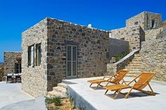 Eagle's Nest by Sinas Architects located on the island of Serifos in Greece.