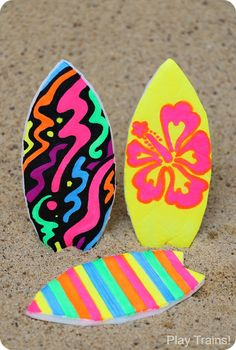 Summer Sports Crafts, Sport Craft, Summer Crafts For Kids, Crafts For Teens, Crafts To Sell, Luau Crafts, Hawaii Crafts, Camping Crafts, Preschool Crafts