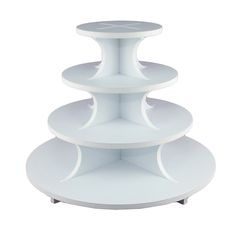 Foam Core Cupcake Stand Round 4 Tier by GSA Cupcake Stands