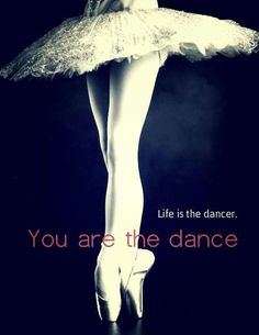 I love the way I feel when I dance, it's like I'm in my own world away from everything going on around me.
