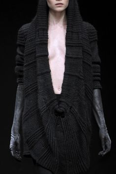 A.F. Vandevorst; an interesting knit