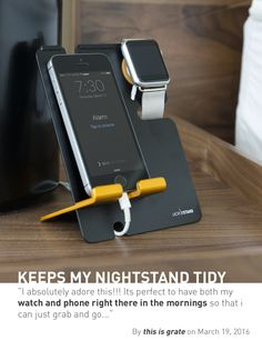 lxory.com: LXORY Apple Watch Stand and iPhone Dock 2 in 1 Duo Charging Station for All iPhone 5, iPhone 6 and iWatch Models.