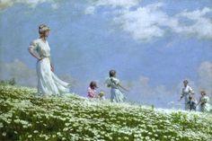 Charles Courtney Curran (1861-1942), Summer - 1906
