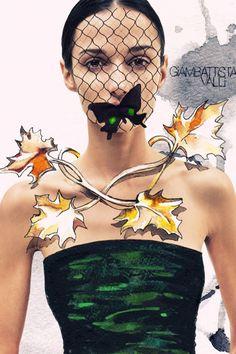 Ink Fabric Editorial Illustrated by Julia Slavinska | Trendland: Fashion Blog & Trend Magazine