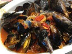 fischi`s cooking and more....: cozze alla busara