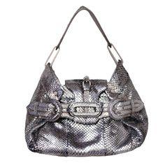 0a40f0c5dc Jimmy Choo Python bag Metallic Handbags