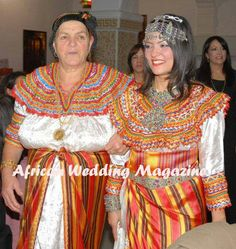 Bride and mom. Algerian wedding