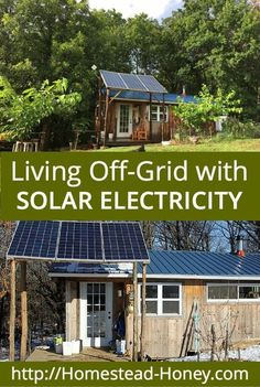 Living Off The Grid With Solar Electricity