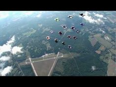 Exploring the Sky - Wingsuit Aerial Fleet
