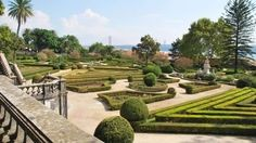 Jardim Botânico da Ajuda - One of the most gracious historic gardens in Lisbon, with sublime views stretching towards Belém, the river and the 25 de Abril Bridge.