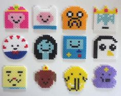 The Handmade Adventure Time Drink Coaster Set