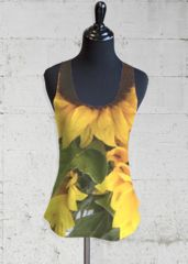 Discount Footlocker Finishline Very Cheap Sale Online Printed Racerback Top - Yellow Roses by VIDA VIDA Sale Clearance Collections For Sale Dj2H6vwFj