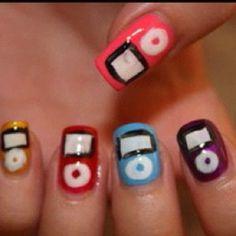 Just press play. iPod nails