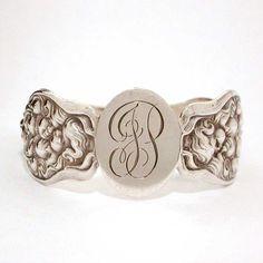 Art Nouveau Unger Bros. Sterling Cupid's Nosegay Napkin Ring