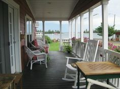 Heading up to Isle Royale, you'll stop in the UP town of Copper Harbor. Stay at the waterfront Bella Vista Motel in one of its cottages and motel rooms for $65-$100 a night. And the view? Quite remarkable.