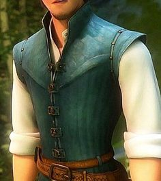 "Flynn Rider costume breakdown<br> Flynn Rider is the dashing hero in Disney's movie ""Tangled."" He is a thief and perhaps you want to dress up as him! Diy Costumes, Cosplay Costumes, Halloween Costumes, Costume Ideas, Skeleton Costumes, Cosplay Ideas, Halloween Halloween, Halloween Makeup, Woman Costumes"