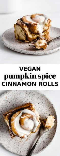 These vegan pumpkin spice cinnamon rolls are the BEST fall treat! They're loaded with pumpkin spice flavour and topped with cream cheese frosting! Vegan Pumpkin, Pumpkin Recipes, Pumpkin Spice, Healthy Pumpkin, Baked Pumpkin, Vegan Cinnamon Rolls, Pumpkin Cinnamon Rolls, Vegan Thanksgiving, Thanksgiving Desserts