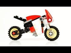 How to Build Moto Guzzi - Café Racer (Small Lego Toy) - YouTube