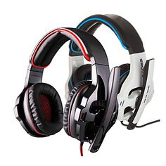 Sades SA-903 headphones Wired Headphones (Headband) With Microphone/Volume Control/Gaming for Computer – USD $ 29.99