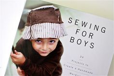 Cool book to buy called Sewing For Boys, with patterns and tutorials